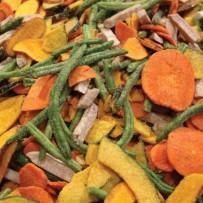 Groente chips gezout - Elbnuts Markthal